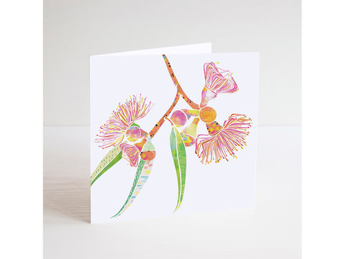 Gum Blossom Mini Card