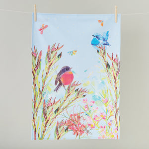 Tea Towel - Spring in the Bush