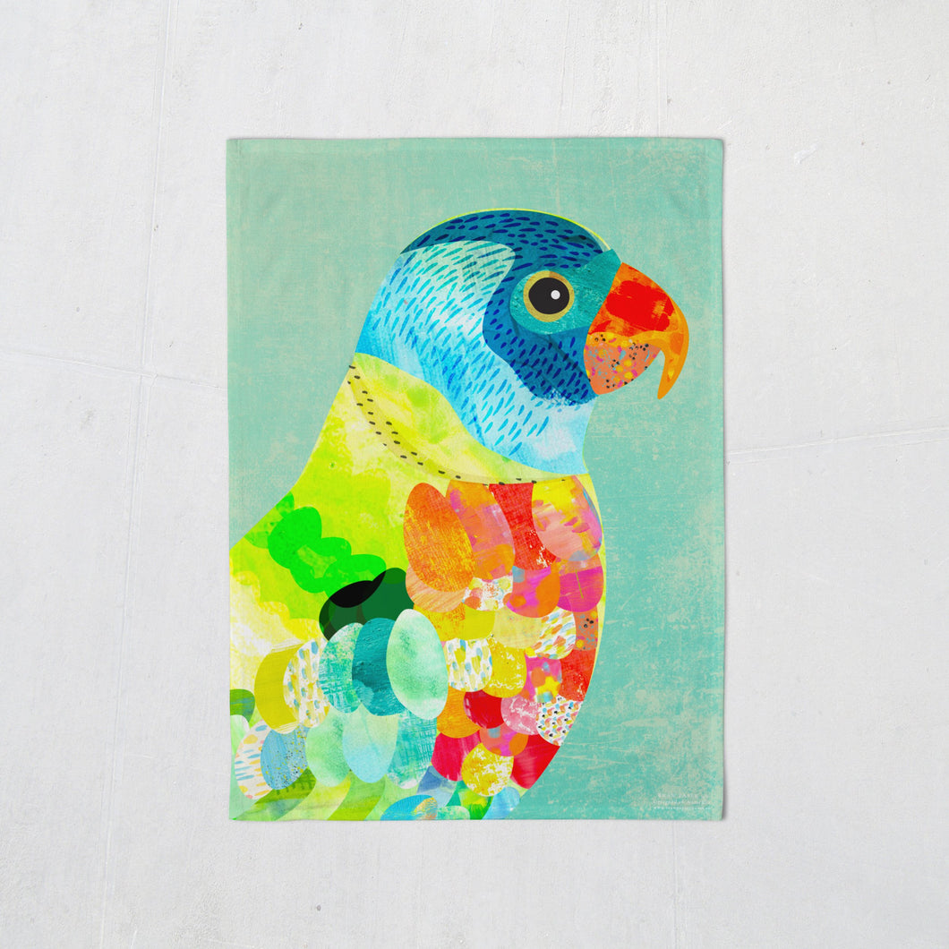Tea Towel - Rainbow Lorikeet