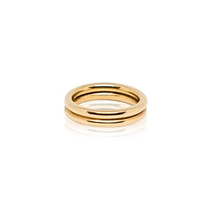 Double - Plain Ring