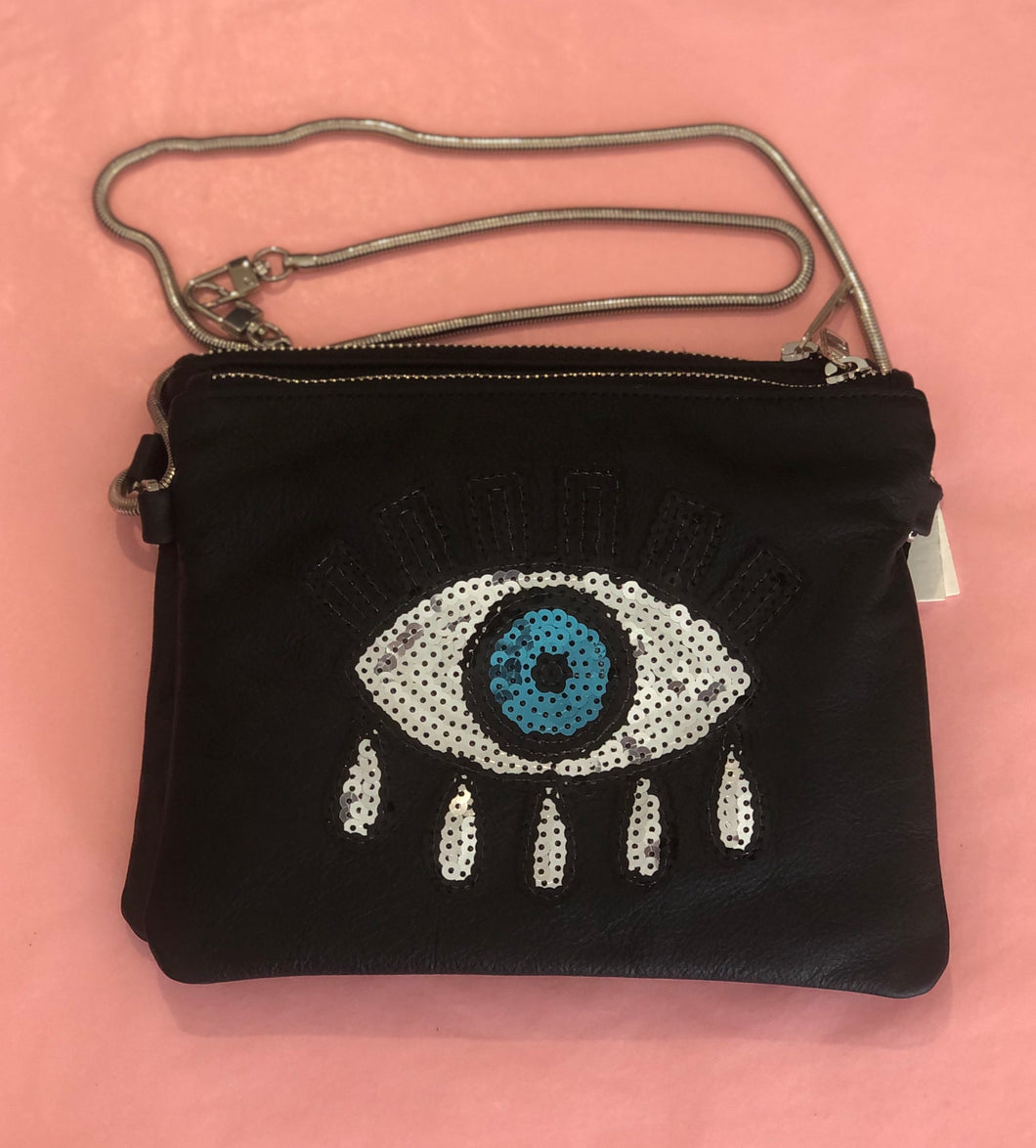 Small Double Take Bag - Black + Eye
