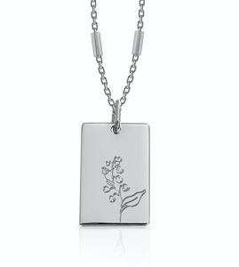 MAY / Daisy - Silver (Rhodium Plated)