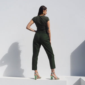 Party Up Pants - Olive