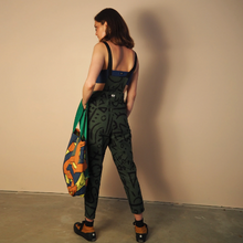 Load image into Gallery viewer, Overalls - Olive Verse 2