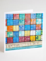 Shipping Containers Card