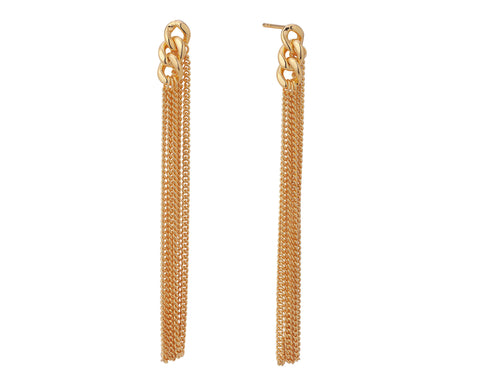 Solstice Earrings - Yellow Gold