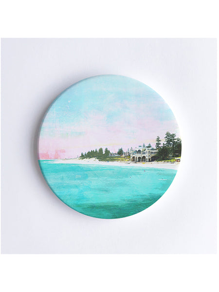 Cottesloe Beach Ceramic Coaster