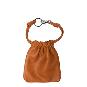 Leather Drawstring Coin Purse