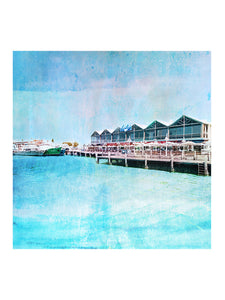 Fremantle Fishing Boat Harbour Art Print
