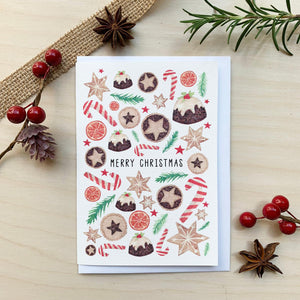 Colour Wash Christmas Cards