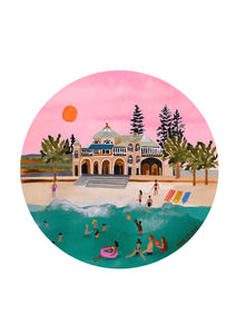 Hebe Studio Print - Sunset Swimmers