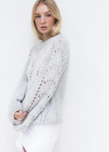 Hello Parry - Luna Mohair & Wool Jumper - Cream