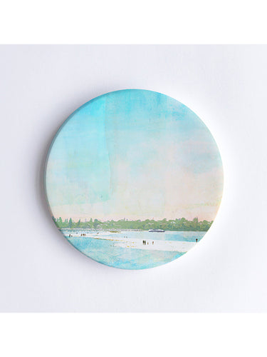 The Sandbar at Point Walter Ceramic Coaster