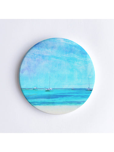 Summer Days on Rottnest Island Ceramic Coaster