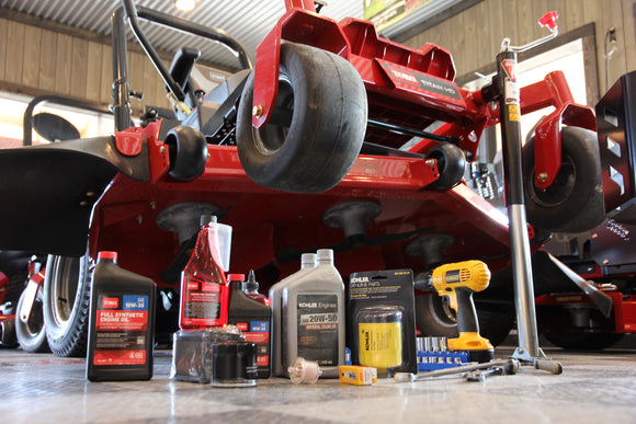 Here's How To Service Your Mower This Winter