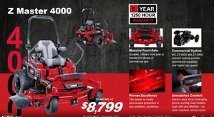 TORO 4000 SERIES Z MASTER  - NEW FOR 2021