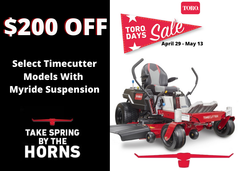 $200 Timecutter Myride Models @ Outdoor Power Sales & Service LLC