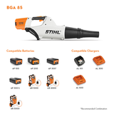 Stihl BGA 85 Battery Powered Hand-Held Blower