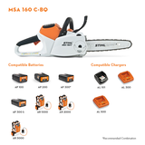MSA 160 C-B Battery Chainsaw