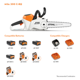 MSA 200 C-B Battery Chainsaw