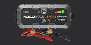Noco GB20 500 Amp UltraSafe Lithium Jump Pack Portable Jump Starter