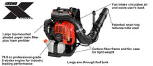Load image into Gallery viewer, ECHO PB-8010 Backpack Leaf Blower Echo 8010 Blower