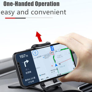 【★★★Discount Up to 30% OFF TODAY】Dashboard Clip Mount Car Phone Holder