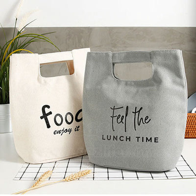 canvas lunch bags for women to work display