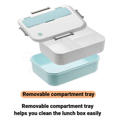 simple plastic lunch box for adults and kids easy to clean