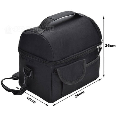8L Large Capacity Thermal Insulated Lunch Cooler Bags for Women and Men-size