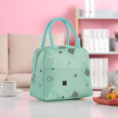 Waterproof Thermal Insulated stylish Lunch Bag For Women And Girl