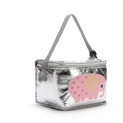 6L Cute Thermal Lunch Bags With Cartoon Animal  For Women And Kids