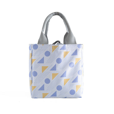 Portable Drawstring Closure Lunch Bag