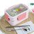 Double Decker Cute School Bento Lunch Boxes for Kids, Stainless Steel, 2 Compartments