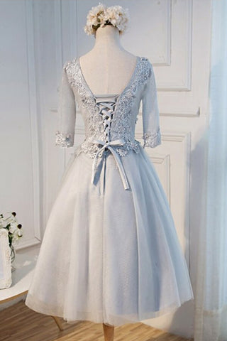 products/ED2024_2V-Neck_Tea-Length_Half_Sleeves_Grey_Tulle_Homecoming_Dress_with_Appliques.jpg