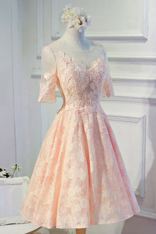 products/ED2097_1Knee_Length_Lace_Homecoming_Dress_with_Short_Sleeves_Party_Dresses.jpg