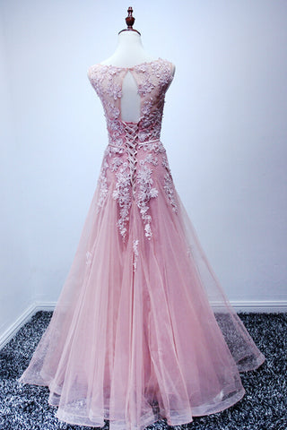 products/ED2115_1Pink_Tulle_Round_Neck_Long_Prom_Dresses_with_Applique.jpg