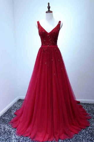 products/ED2174A_Line_Red_V-neck_Long_Tulle_Prom_Dresses.jpg