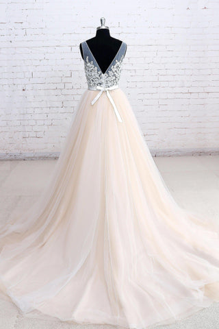 products/ED2193_2A_Line_V-neck_Long_Tulle_Prom_Ball_Gown_with_Lace.jpg