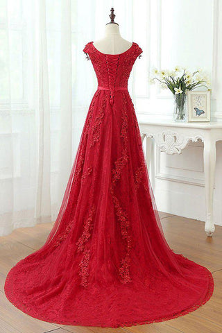 products/ED2210_2A_Line_Red_V-Neck_Long_Lace_Prom_Dresses_with_Cap_Sleeves.jpg