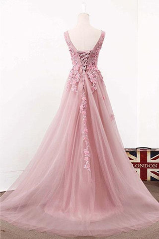 products/ED2325_2A_Line_V-neck_Long_Tulle_Prom_Dresses_with_Applique.jpg