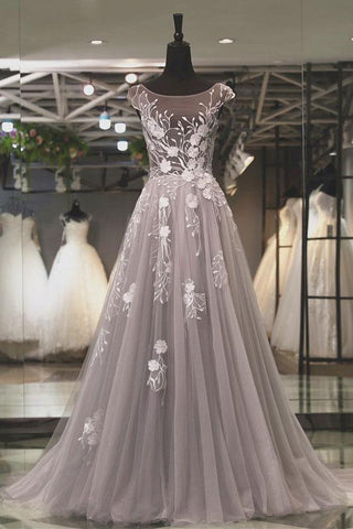 products/ED2345Grey_Round_Neck_Long_Tulle_Prom_Dresses_with_Applique.jpg