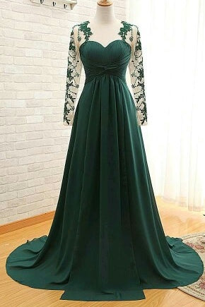 products/ed2191_1Dark_Green_A_Line_Long_Chiffon_Prom_Dresses_with_Sleeves.jpg