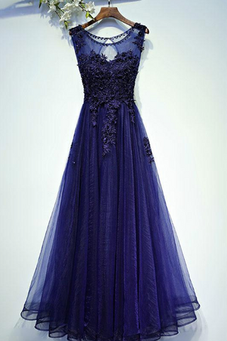 products/ed2398Round_Neck_Purple_Long_Tulle_Prom_Dresses_with_Applique.png