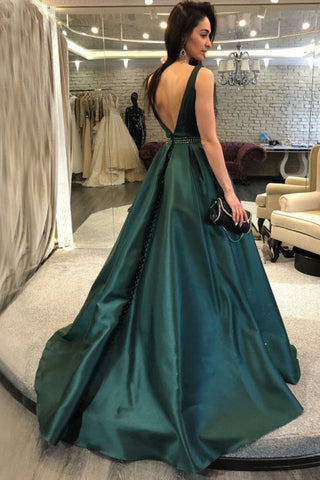 products/ed2557_1A_Line_Dark_Green_Sweep_Train_Satin_Prom_Dresses_with_Beadings.jpg