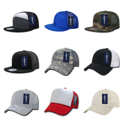 blank & custom trucker hats (embroidered), bulk & wholesale trucker hats, promotional trucker hats, & custom hat embroidery