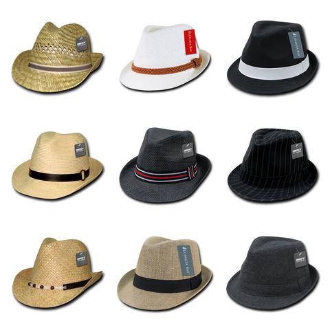 blank & custom fedora hats (embroidered), bulk & wholesale fedora hats, promotional fedora hats, & custom hat embroidery