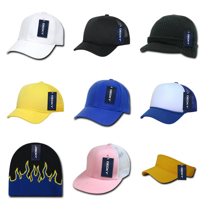 blank & custom youth kids' hats (embroidered), bulk & wholesale youth kids' hats, promotional youth kids' hats, & custom hat embroidery