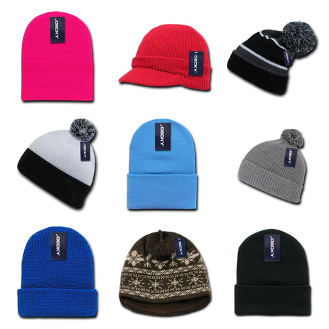 blank & custom beanies (embroidered), bulk & wholesale beanies, promotional beanies, & custom hat embroidery