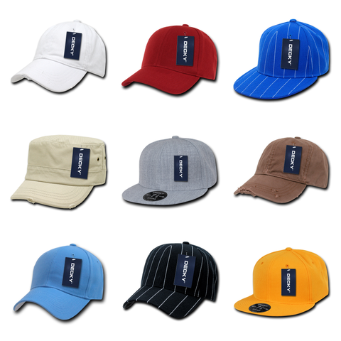 Wholesale Hats & Caps in Bulk - Blank, Custom Embroidered